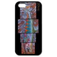 "iPhone 5 Case – DeYoung ""4 in 1 Full – Salmon Fly"""