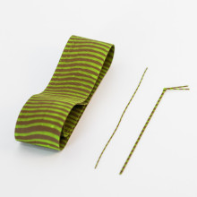 Zebra Hopper Legs – Green